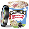 Ben & Jerry's Strawberry Cheesecake Eis 500ml