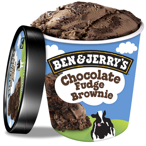 Ben & Jerry's Chocolate Fudge Brownie Eis 500ml