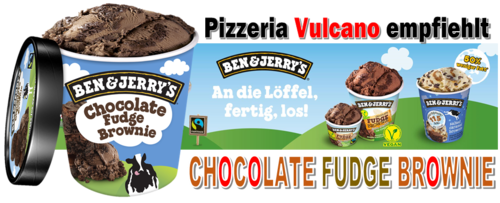Ben & Jerry's Chocolate Fudge Brownie Eis 465ml