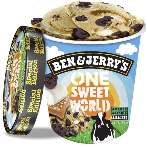 Ben & Jerry's One Sweet World Eis 500ml