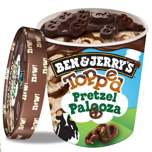 Ben & Jerry's Topped Pretzel Palooza 470ml